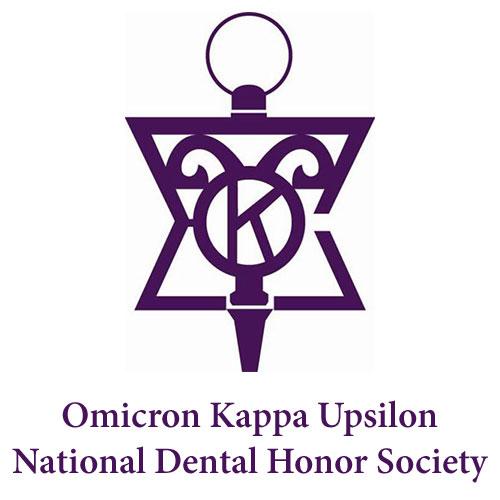 Omicron Kappa Upsilon National Dental Honor Society - Endodontic Associates of Tarrant County - Nadia Budhani DMD